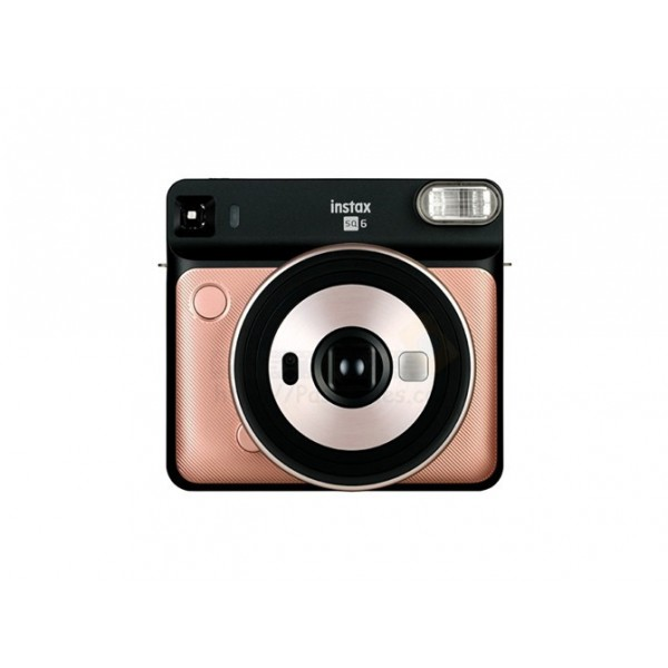 Fujifilm Instax SQUARE SQ6 Instant Camera (Blush Gold) +FREE Gift Bundle