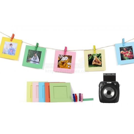 Kraft Color Frames For Instax Square Films