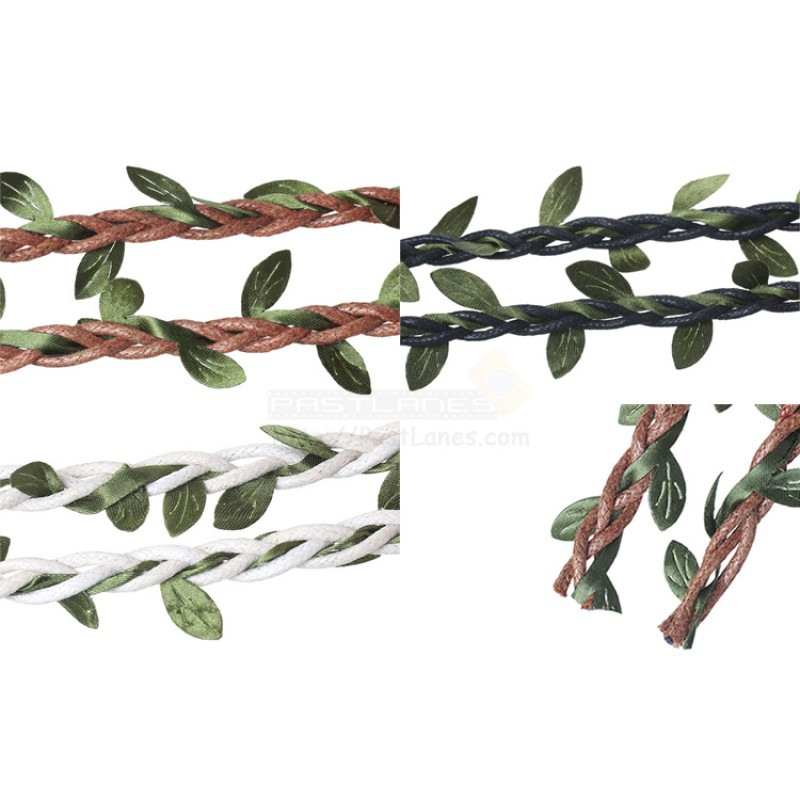 Woven Leaf Rope 1m