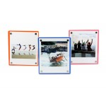 Magnetic Acrylic Square Photo Frame [1 Slot]