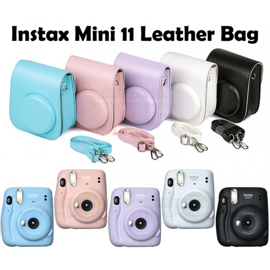 Instax Mini 11 Leather Bag