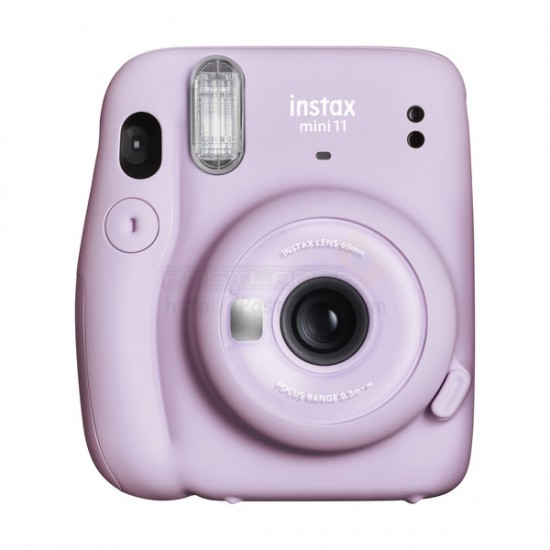 Fujifilm Instax Mini 11 Polaroid Camera (Lilac Purple)
