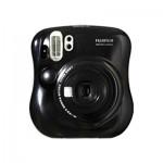 Fujifilm Instax Mini 25 Polaroid Camera (Black) + Mystery Gift
