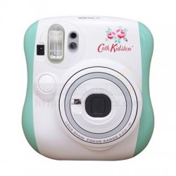 Fujifilm Instax Mini 25 Polaroid Camera (Cath Kidston Mint) + Mystery Gift