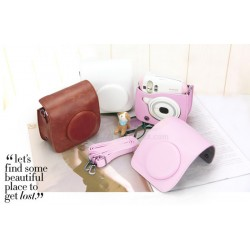 Colourful Fit Leather Bag For Instax Mini 25