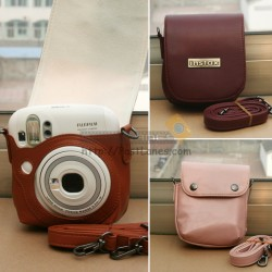 Leather Case For Instax Mini 25