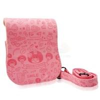 Instax Mini 25 MocMoc Leather Bag