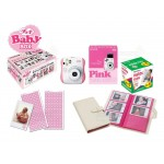 Fujifilm Instax Mini 25 Polaroid Camera (Pink) [Baby Box]