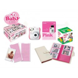 Fujifilm Instax Mini 25 Polaroid Camera (Pink) [Baby Box]