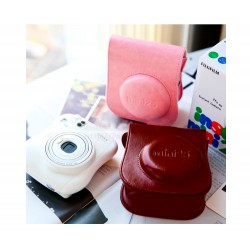 Retro Leather Case For Instax Mini 25