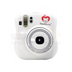 Fujifilm Instax Mini 25 Polaroid Camera (Rilakkuma White)