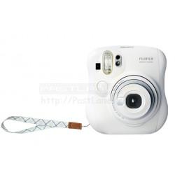 Fujifilm Instax Mini 25 Polaroid Camera (White) + Mystery Gift