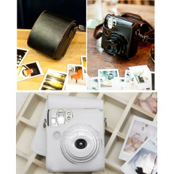 Soft Leather Bag For Instax Mini 50S