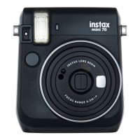 Fujifilm Instax Mini 70 (Midnight Black) + FREE SG50 Film + Mystery Gift + 1 Year SG Fujifilm Warranty