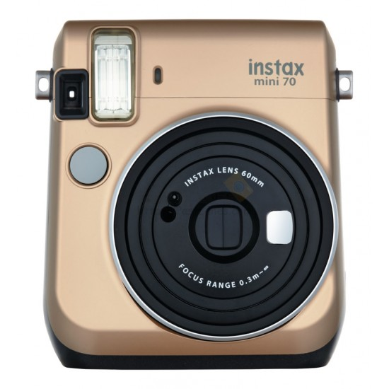 Fujifilm Instax Mini 70 (Stardust Gold) + Many Gifts