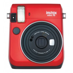 Fujifilm Instax Mini 70 (Passion Red) + Many Gifts