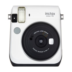 Fujifilm Instax Mini 70 (Moon White) + Many Gifts