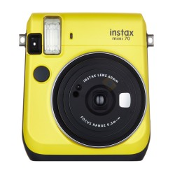 Fujifilm Instax Mini 70 (Canary Yellow) + Many Gifts