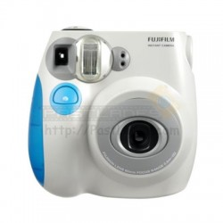 Fujifilm Instax Mini 7S Polaroid Camera (Blue)