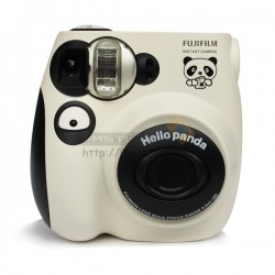 Fujifilm Instax Mini 7S Polaroid Camera (Hello Panda Edition)