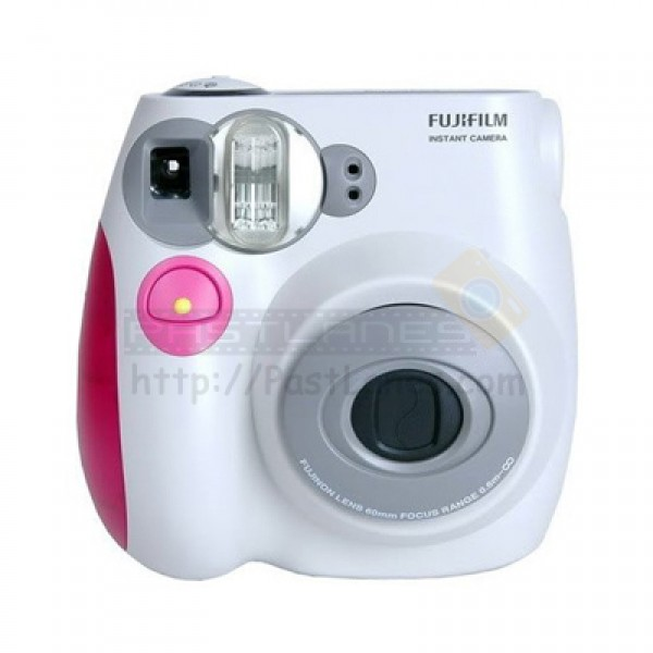 fujifilm instax mini 7s polaroid camera pink. Black Bedroom Furniture Sets. Home Design Ideas