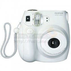 Fujifilm Instax Mini 7S Polaroid Camera (White)