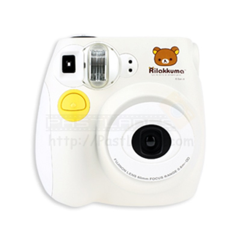 fujifilm instax mini 7s polaroid camera rilakkuma. Black Bedroom Furniture Sets. Home Design Ideas