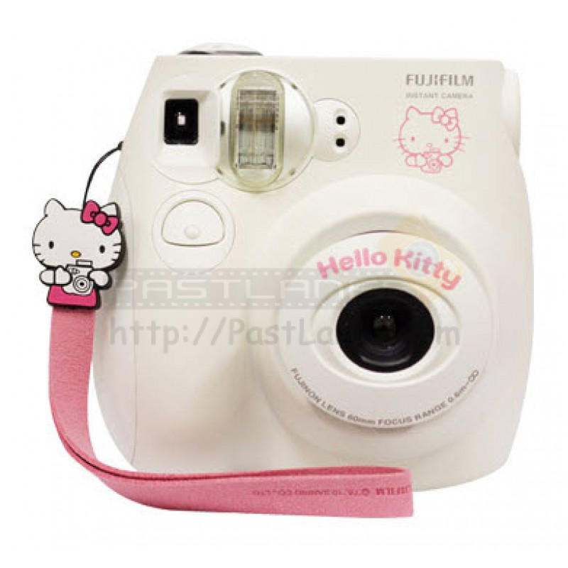fujifilm instax mini 7s hello kitty gift set white. Black Bedroom Furniture Sets. Home Design Ideas