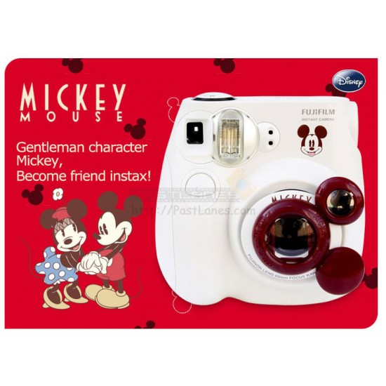 Fujifilm Instax Mini 7S Mickey Mouse Gift Set (White)