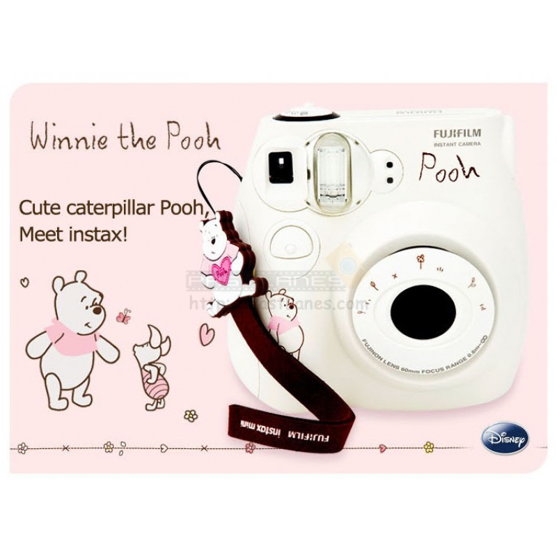 fujifilm instax mini 7s winnie the pooh gift set white. Black Bedroom Furniture Sets. Home Design Ideas