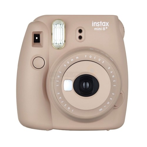 fujifilm instax mini 8 plus polaroid camera cocoa. Black Bedroom Furniture Sets. Home Design Ideas