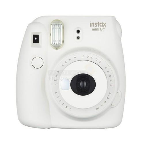 fujifilm instax mini 8 plus polaroid camera vanilla. Black Bedroom Furniture Sets. Home Design Ideas