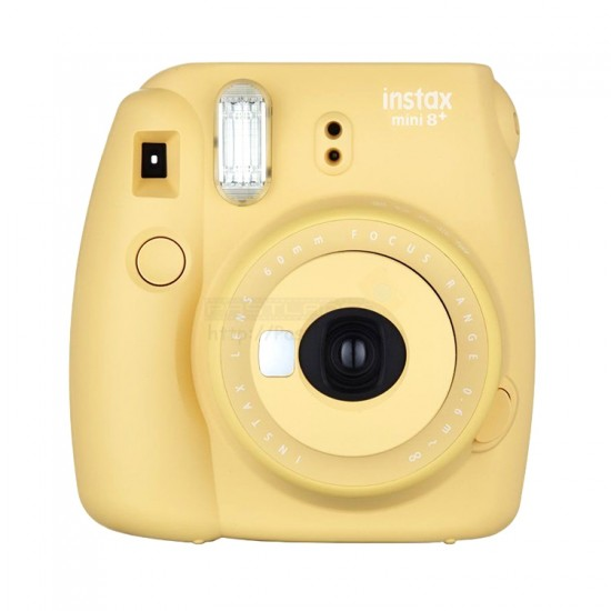 Fujifilm Instax Mini 8+ Plus Polaroid Camera (Honey) + Mystery Gift