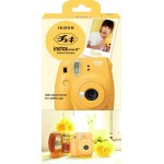 Fujifilm Instax Mini 8+ Plus Polaroid Camera (Honey) + Mystery Gift
