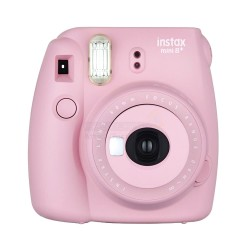 Fujifilm Instax Mini 8+ Plus Polaroid Camera (Strawberry) + Mystery Gift