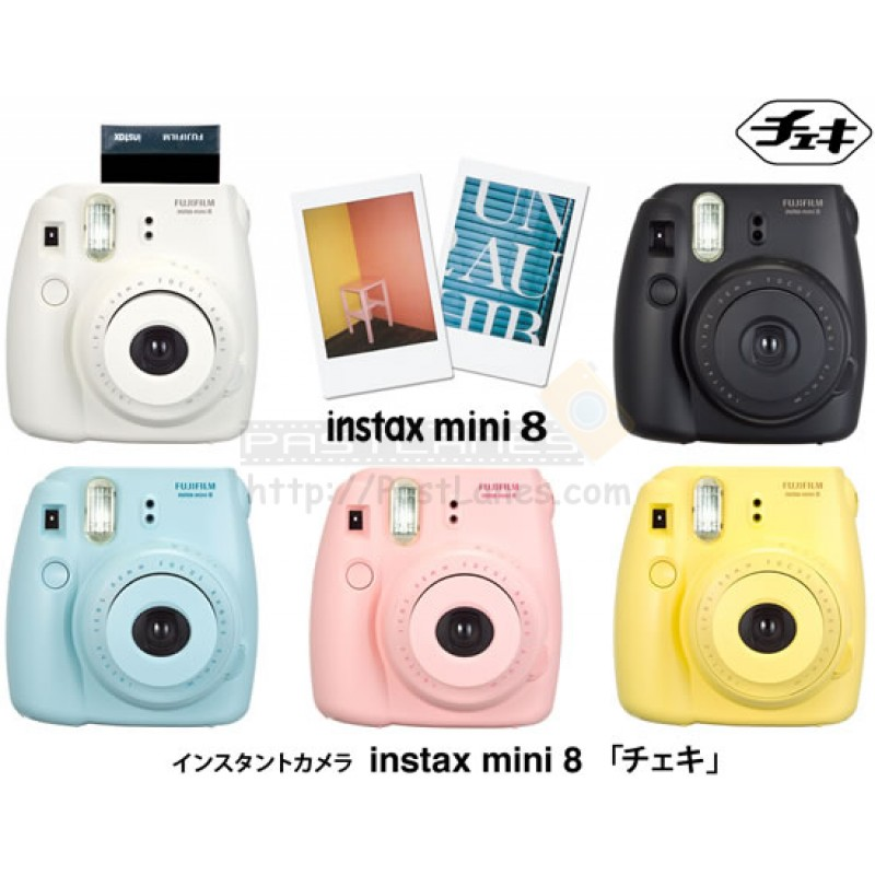 fujifilm instax mini 8 polaroid camera little twin stars kiki lala mystery gift. Black Bedroom Furniture Sets. Home Design Ideas