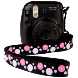 Fujifilm Instax Mini 8 Polaroid Camera (Black) + Mystery Gift