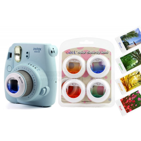 Mini 7S / Mini 8 Gradient Color Filter Lens (4 Lens)