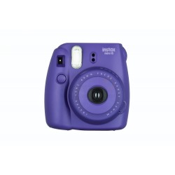 Fujifilm Instax Mini 8 Polaroid Camera (Grape) + Mystery Gift
