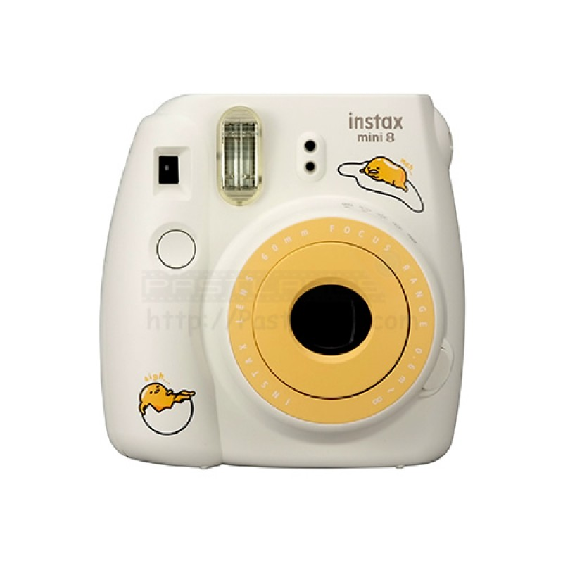 fujifilm instax mini 8 polaroid camera gudetama mystery gift. Black Bedroom Furniture Sets. Home Design Ideas
