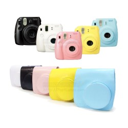 Leather Bag For Instax Mini 8, Mini 8+, Mini 9