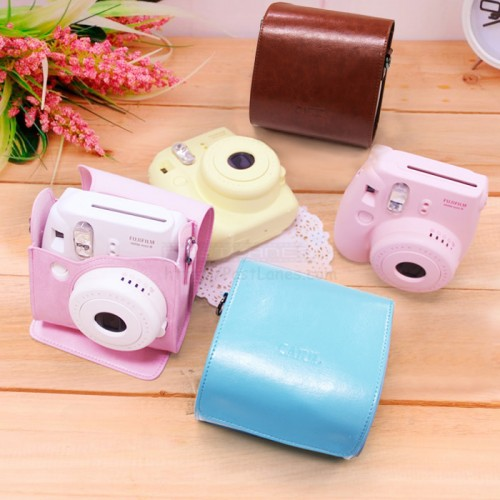 Leather Bag For Instax Mini 8