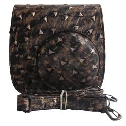 Metallic Style Leather Bag For Instax Mini 8, Mini 8+, Mini 9