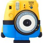 Fujifilm Instax Mini 8 Polaroid Camera (Minion) + FREE Film Camera