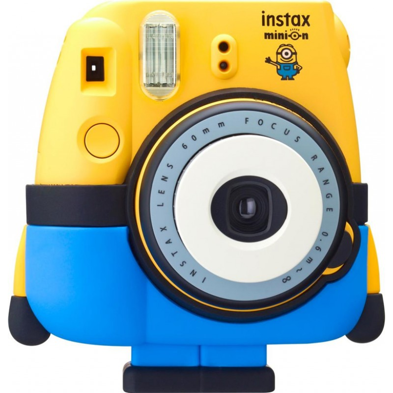 fujifilm instax mini 8 polaroid camera minion mystery gift. Black Bedroom Furniture Sets. Home Design Ideas