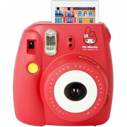 Fujifilm Instax Mini 8 Polaroid Camera (My Melody) + Mystery Gift