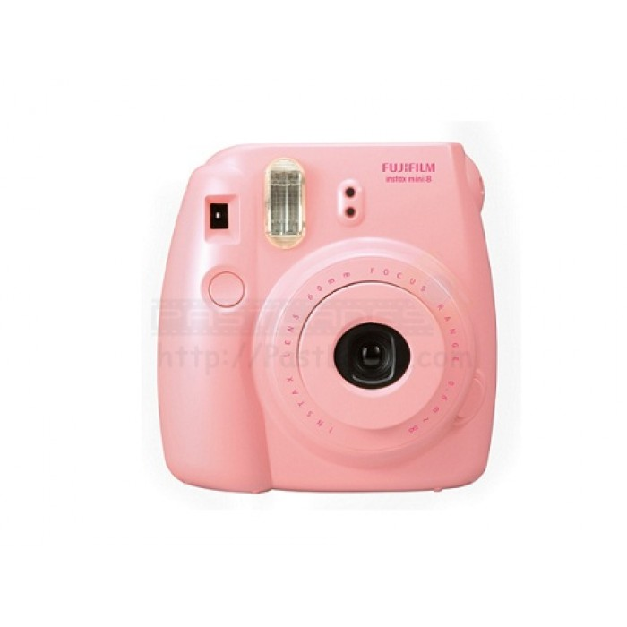 fujifilm instax mini 8 polaroid camera pink mystery gift. Black Bedroom Furniture Sets. Home Design Ideas