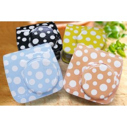 Polka Dot Leather Bag For Instax Mini 8, Mini 8+, Mini 9
