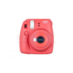 Fujifilm Instax Mini 8 Polaroid Camera (Raspberry) + Mystery Gift