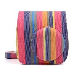 Stripe Bag For Instax Mini 8, Min 8+, Mini 9